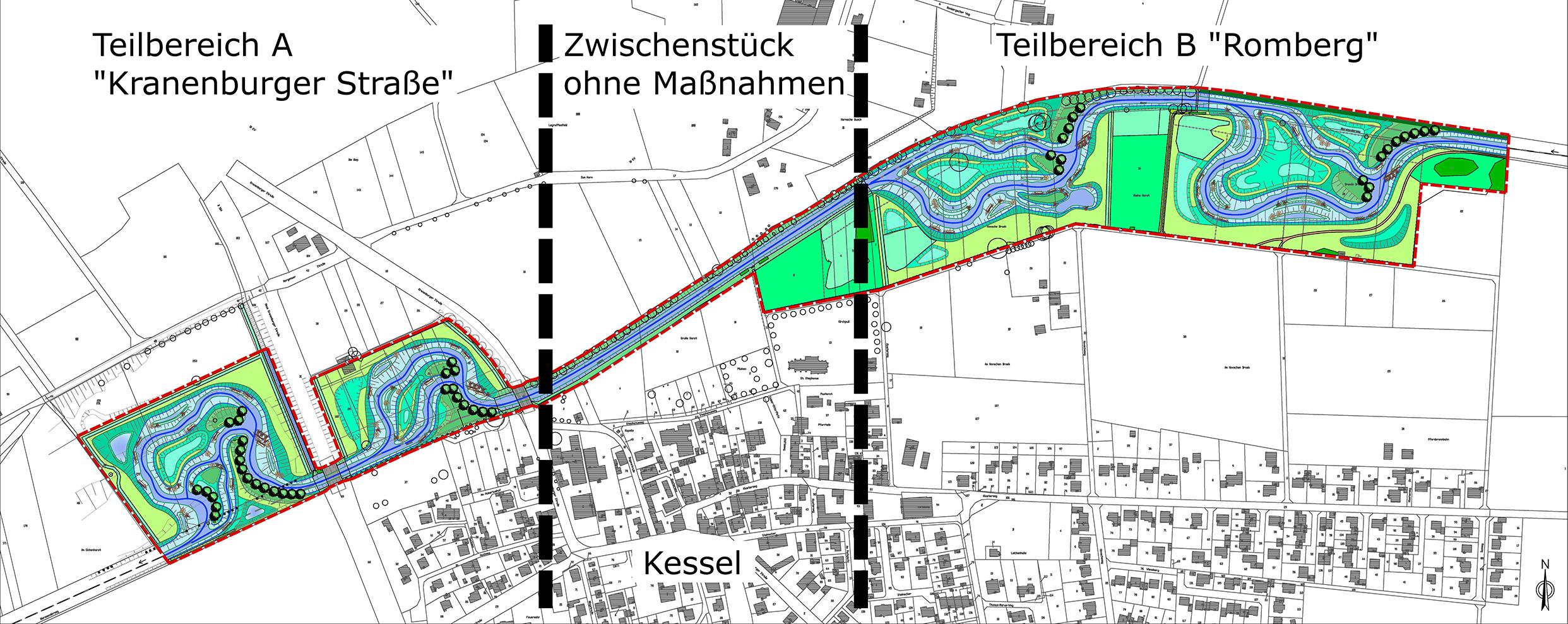 Niersverband: 23. Januar 2018 - Bauarbeiten an der Niers in Kessel ...